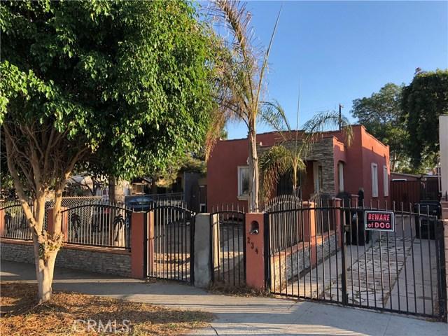 Photo of 234 E 110th Street, Los Angeles, CA 90061